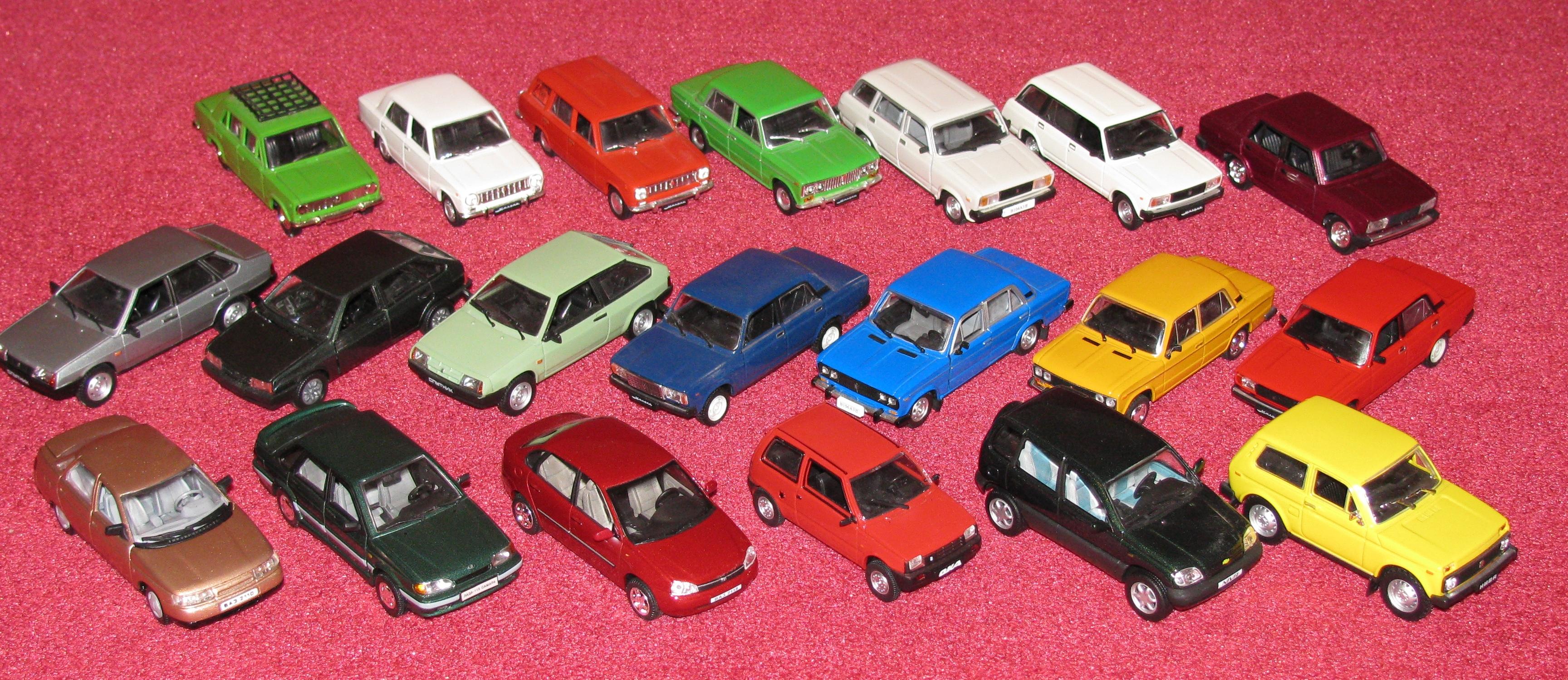 Новинки магазина миниатюрных машин