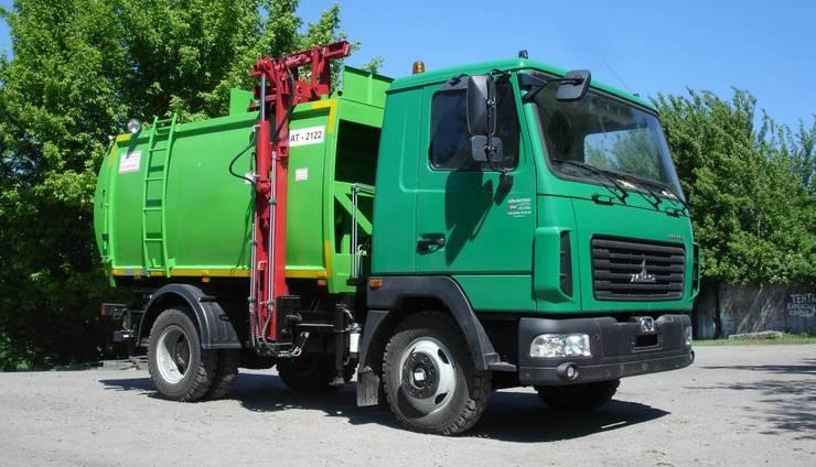 Классификация мусоровозов